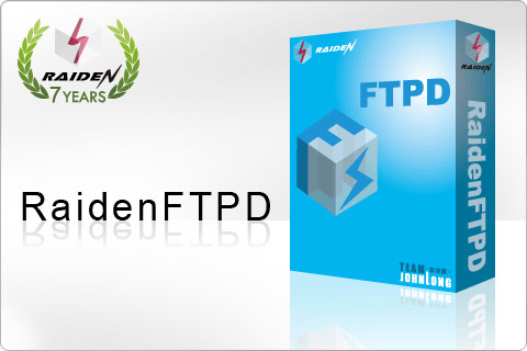 RaidenFTPD FTP Server full screenshot