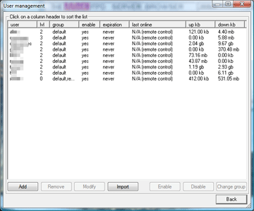 ftp server remote control 7